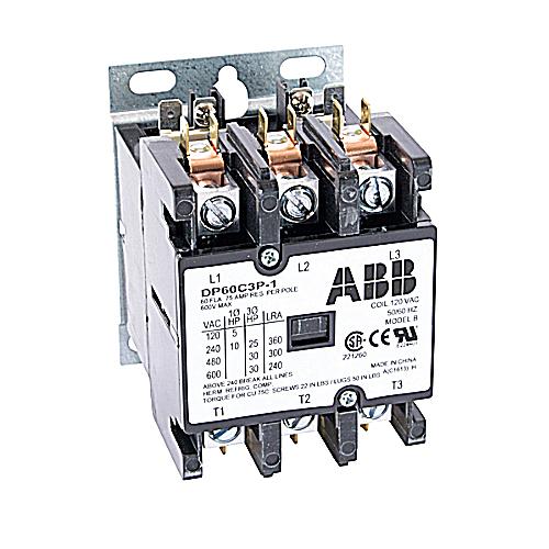 ABB DP60C3P-1 DP CONTR 60A 3P 120/6