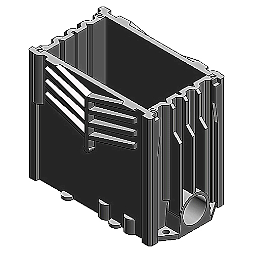 RECT FLOOR BOX BASE ASSEMBLY