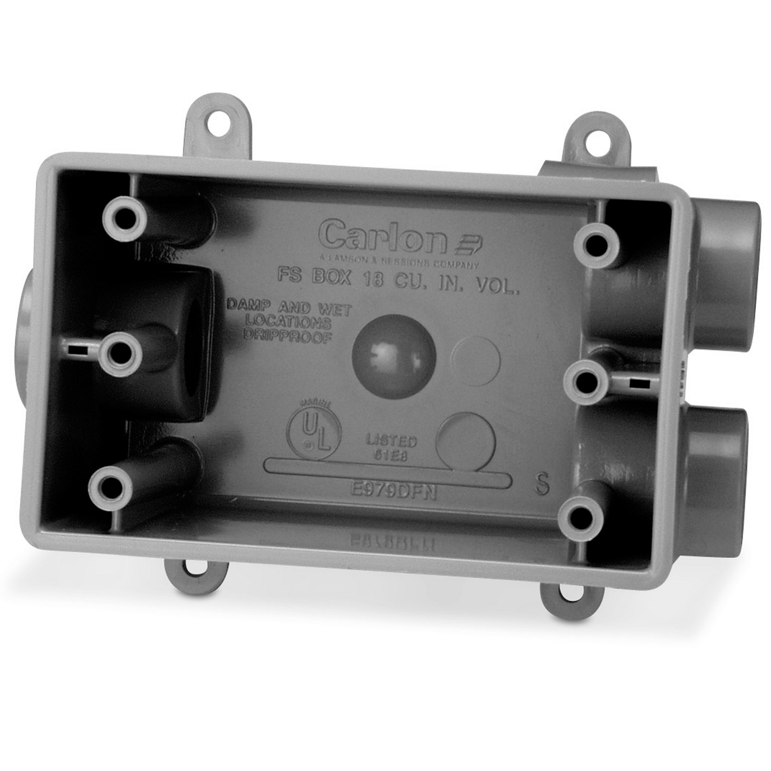 CARLON E979EFN-CAR 3/4 FSCC PVC BOX