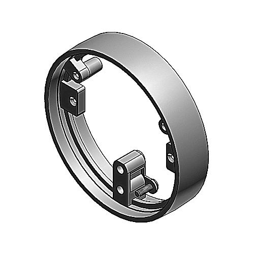 Carlon E97abr2 One Piece Metal Cover Plastic Adapter Ring
