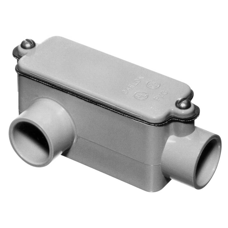 CARLON E985E-CAR 3/4 LR PVC CND BDY