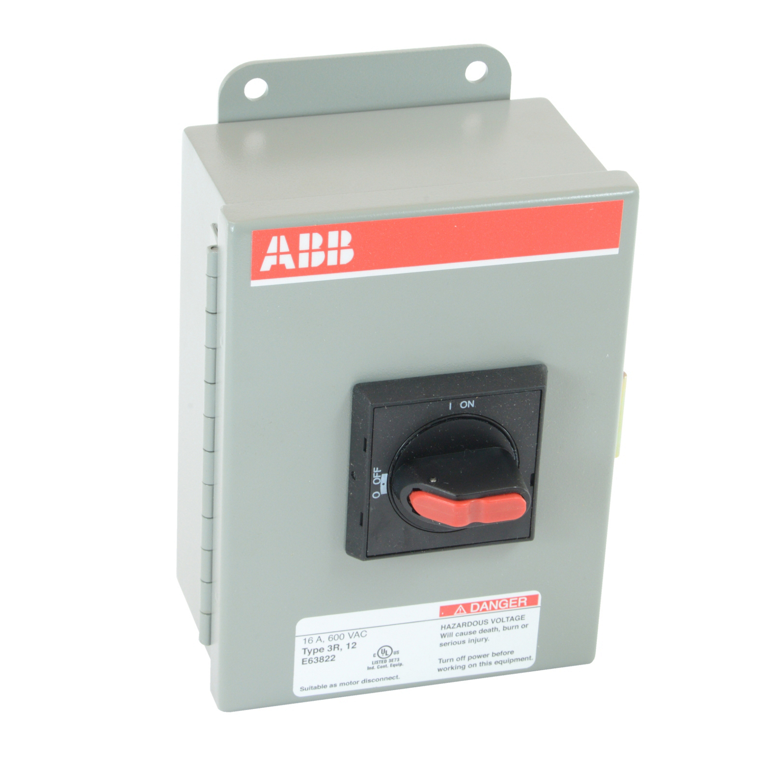 Product Listing Great Lakes Automation Supply For Abb Solid State Overload Relay Eot16u3m3 S 3p 20a N Fus Sw