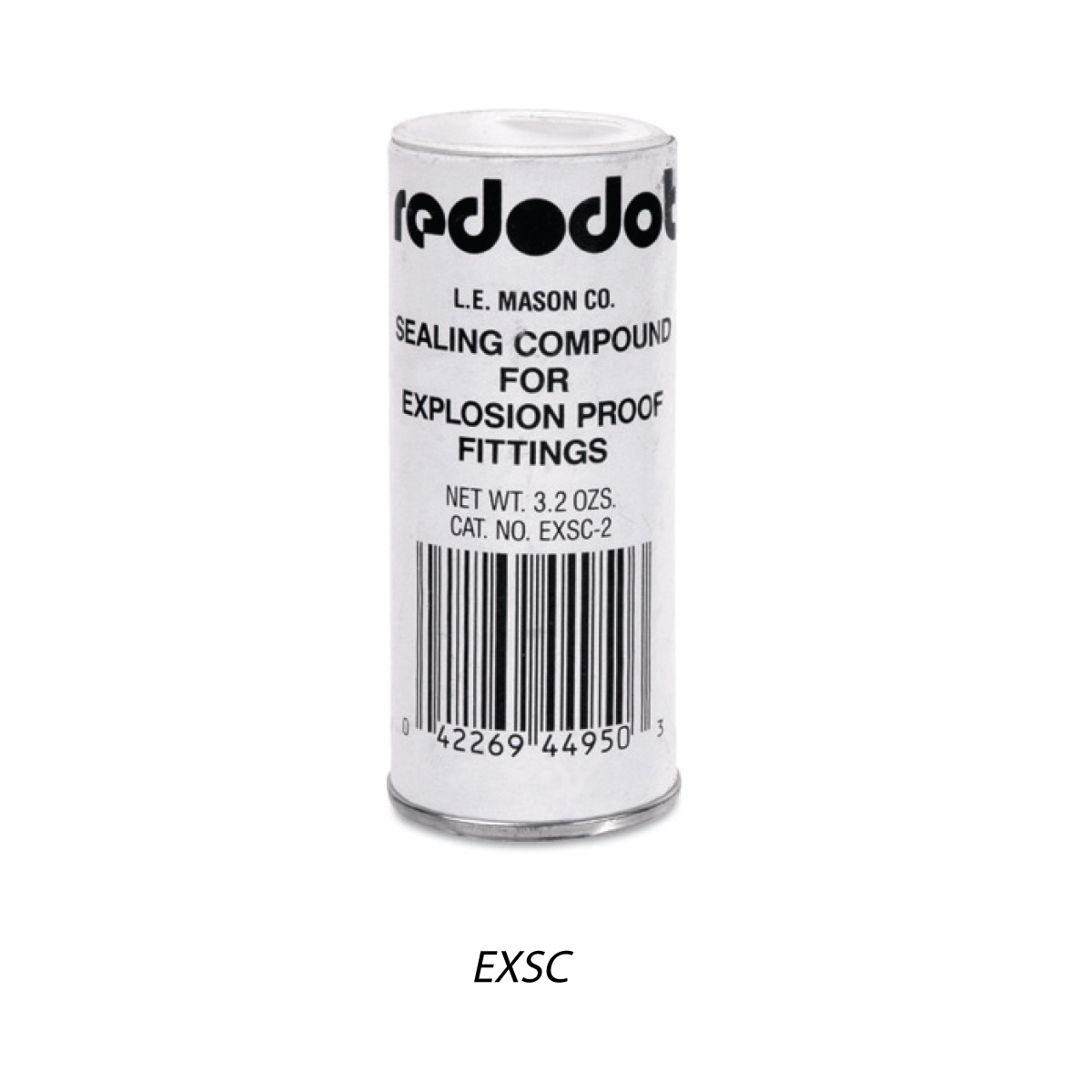 Red-Dot EXSC-8 13oz Sealing Cement, for T&B EYV, EVH Series Hazardous Location Fittings