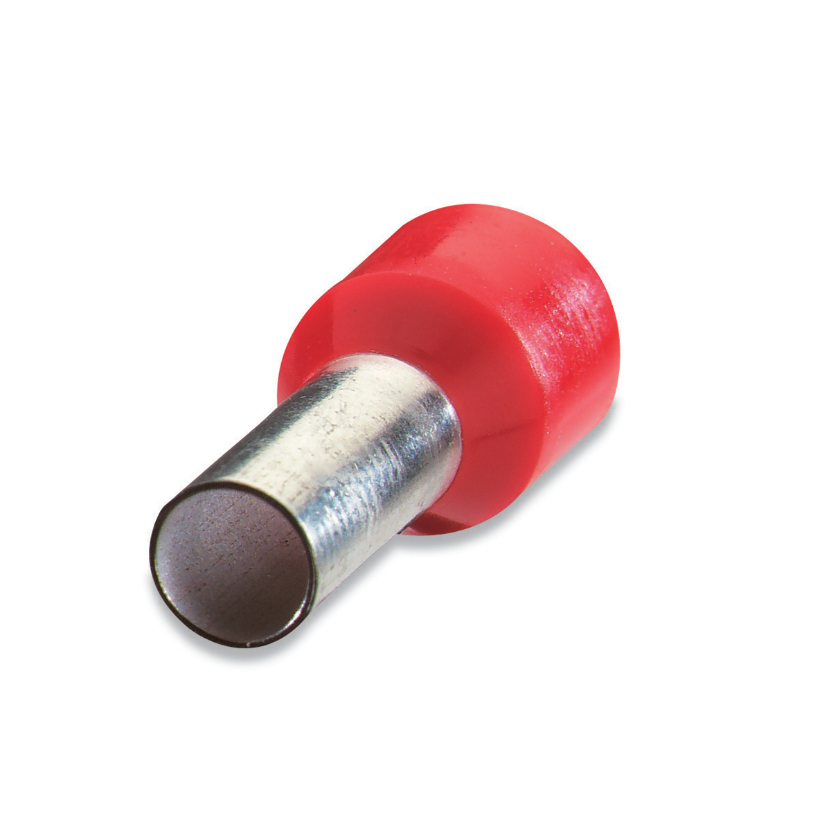 "Thomas & Betts F2028 Insulated Ferrule - #18, .571"", Red (500/Pkg)"