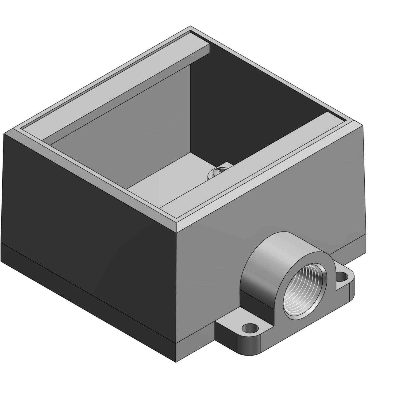 T&B FD22TB 3/4 2G-DEEP BOX IRON