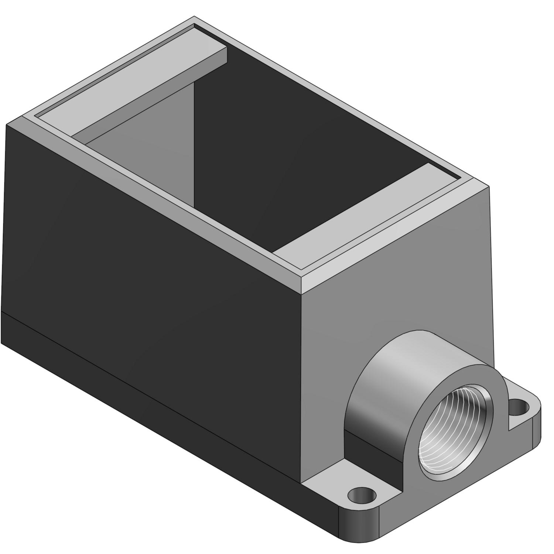 T&B FD2TB 3/4 1G-DEEP BOX IRON D