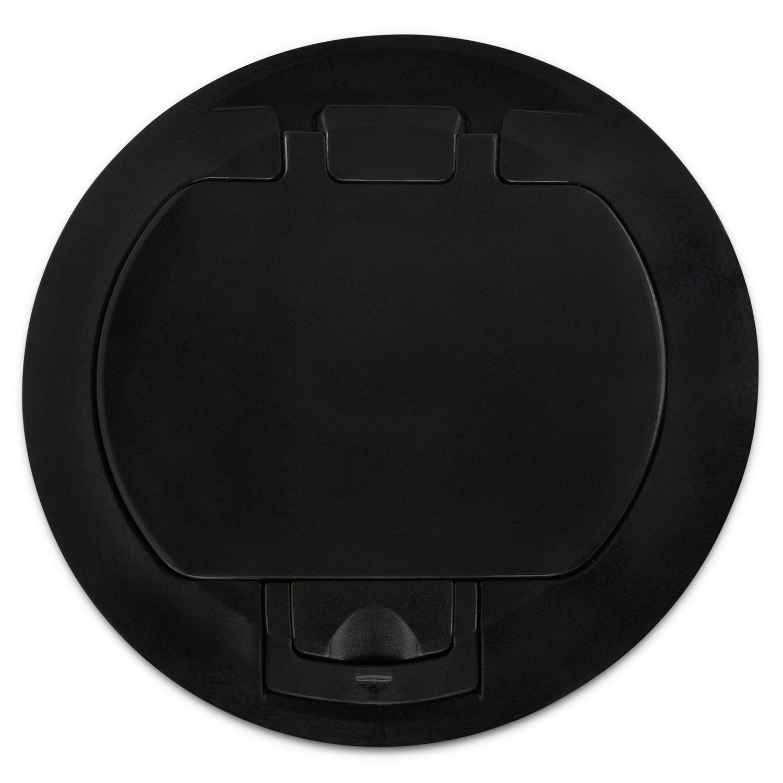 T&B FPT4-CVR-TBLK 4X4 Poke-ThruCover - Black