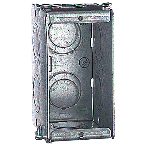 Steel City GW-125-G 2-1/2D 1G Masonry Box