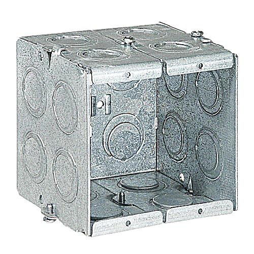 Steel City GW-235-G 2-Gang Steel Masonry Box