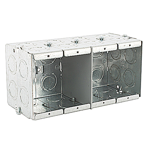 Steel City GW-435-G 4-Gang Masonry Box
