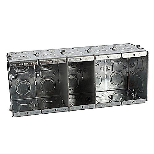 Weston Wy Steel Buildings Reviews 2: Steel City GW-535-G 3-1/2D 5G Masonry Box