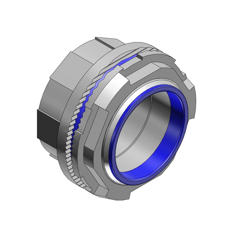 """T&B H050-TB 1/2"""" Zinc Conduit Hub"""