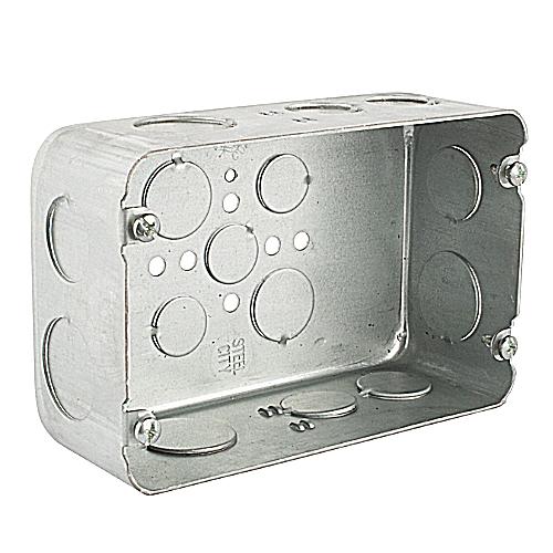 Steel City H2BD-3/4-1 2 Gang Deep Box 1 34 Kos