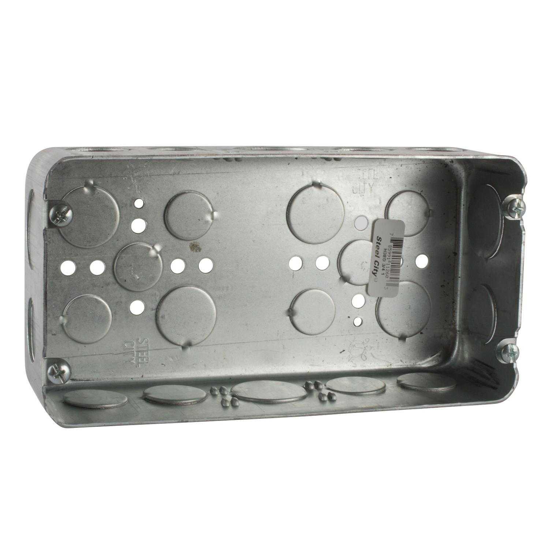 STL-CTY H3BD-3/4-1 2-1/2D3G GANGBOX(BOX/10)