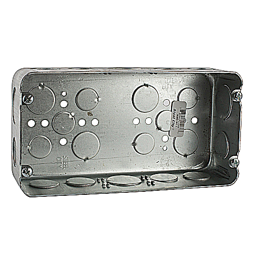 Steel City H3BD-3/4-1 2-1/2 In Depth 3 Gang Work Box