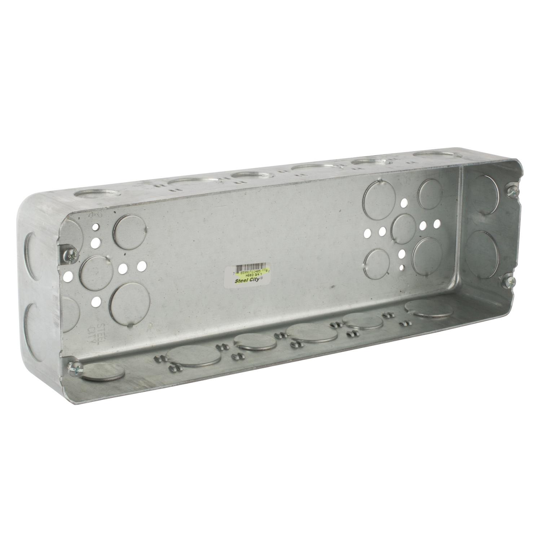 H6BD-3/4-1 T&B 6 GANG DEEP BOX, 1