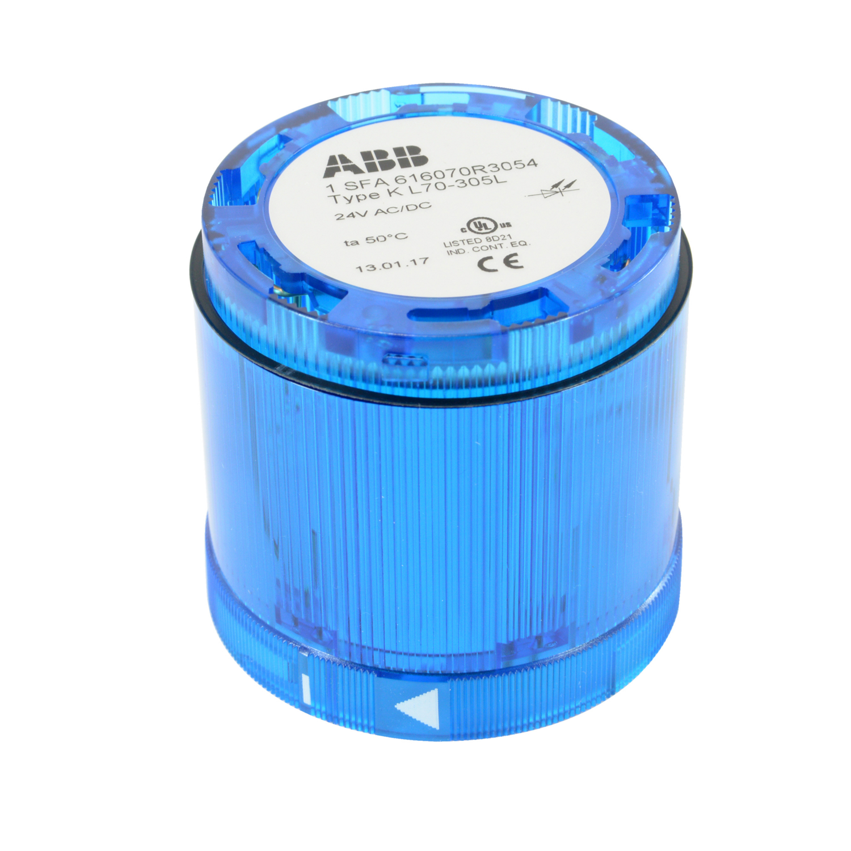 ABB KL70-305L STACKLIGHT,BLU,LED,24