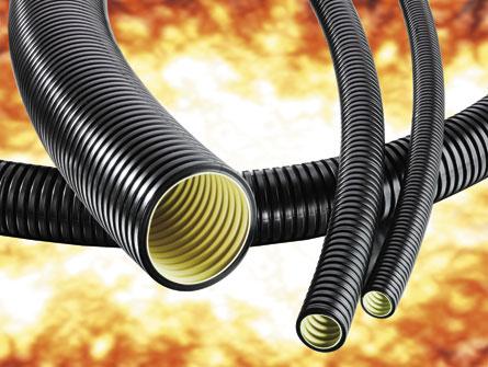 XESX Three layer corrugated conduit, very flexible, medium-duty