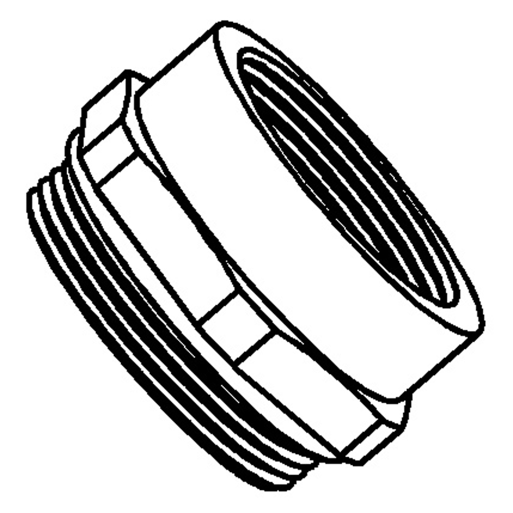 "T&B M2050 ADAPTER,M20 TO 1/2"" NPT"