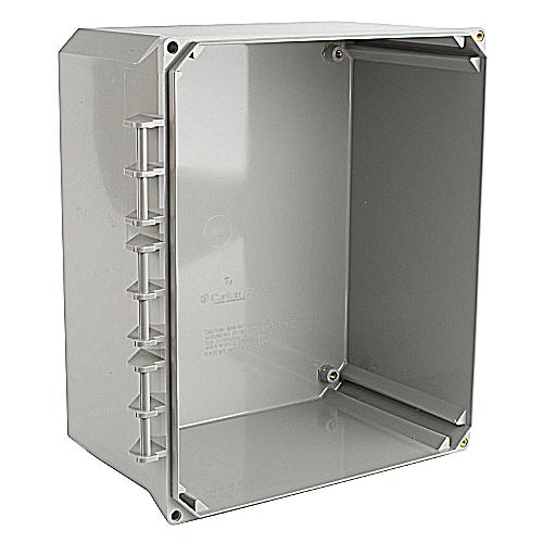 Carlon NL1210B Carlon, Electrical Enclosure Box, 12x10x6, Box Only, External Hinge Style