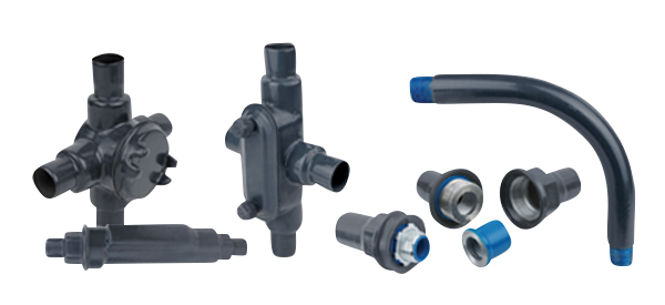 Ocal® PVC-coated conduit and fittings