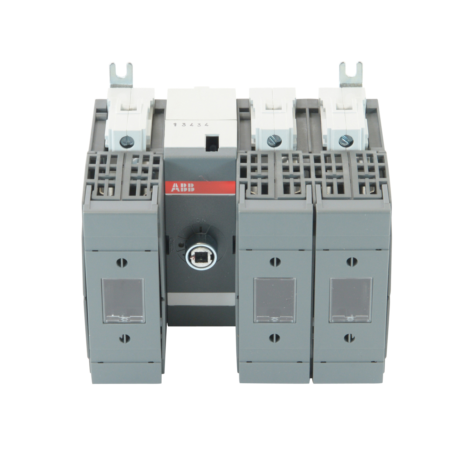 OS60GJ12 ABB 3POLE 60A CLASS J FUSIBLE DISCONNECT SWITCH; 1POLE LEFT/2POLES RIGHT OF MECHANISM