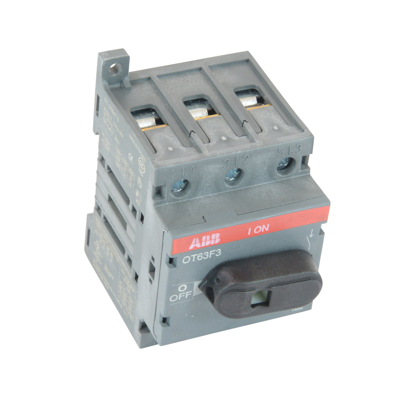 Thomas & Betts OT63F3 Disconnect Switch, 3 Pole, 60 Amp, 600 Volt ...