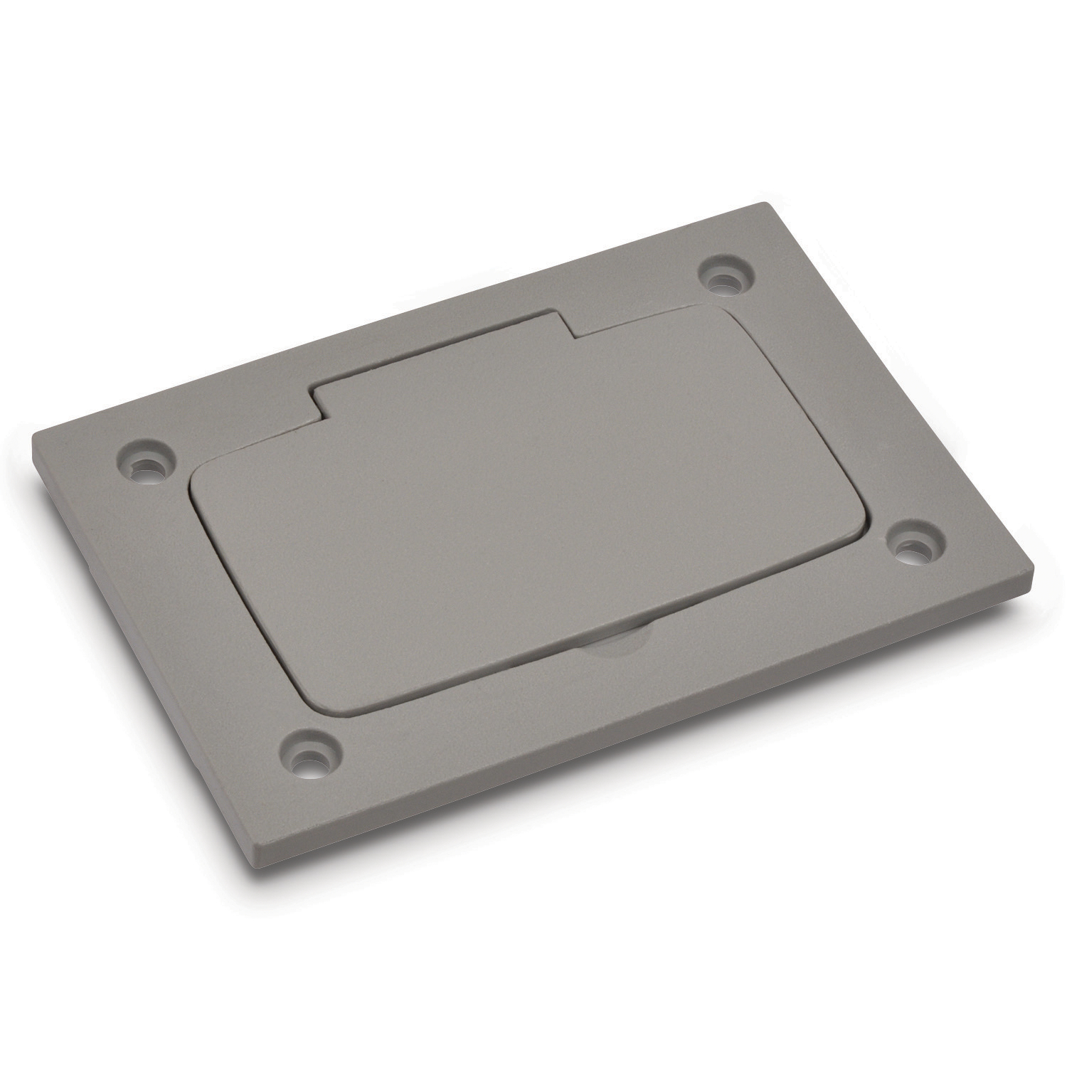 STL-CTY P64PURCGRY PLASTICBOX/COVER