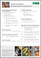 PMA-Zubehörteile und Wellrohre in Automations-Anwendungen