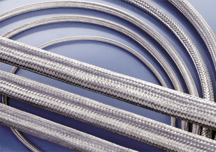 F.304 Stainless steel braided hose