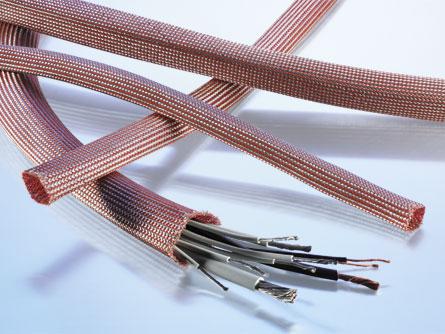 F.HY Hybrid screening braid, very flexible, lightweight