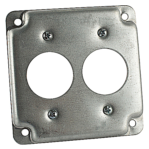 Steel City RS-10 4 in. Square Box Surface Cover