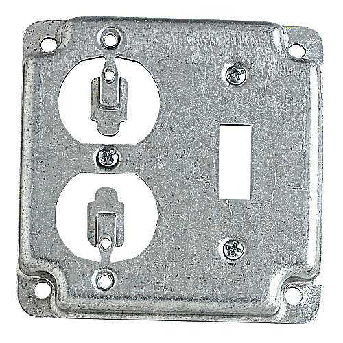 Steel City RS-2 Duplex / Toggle Switch Outlet Box Cover