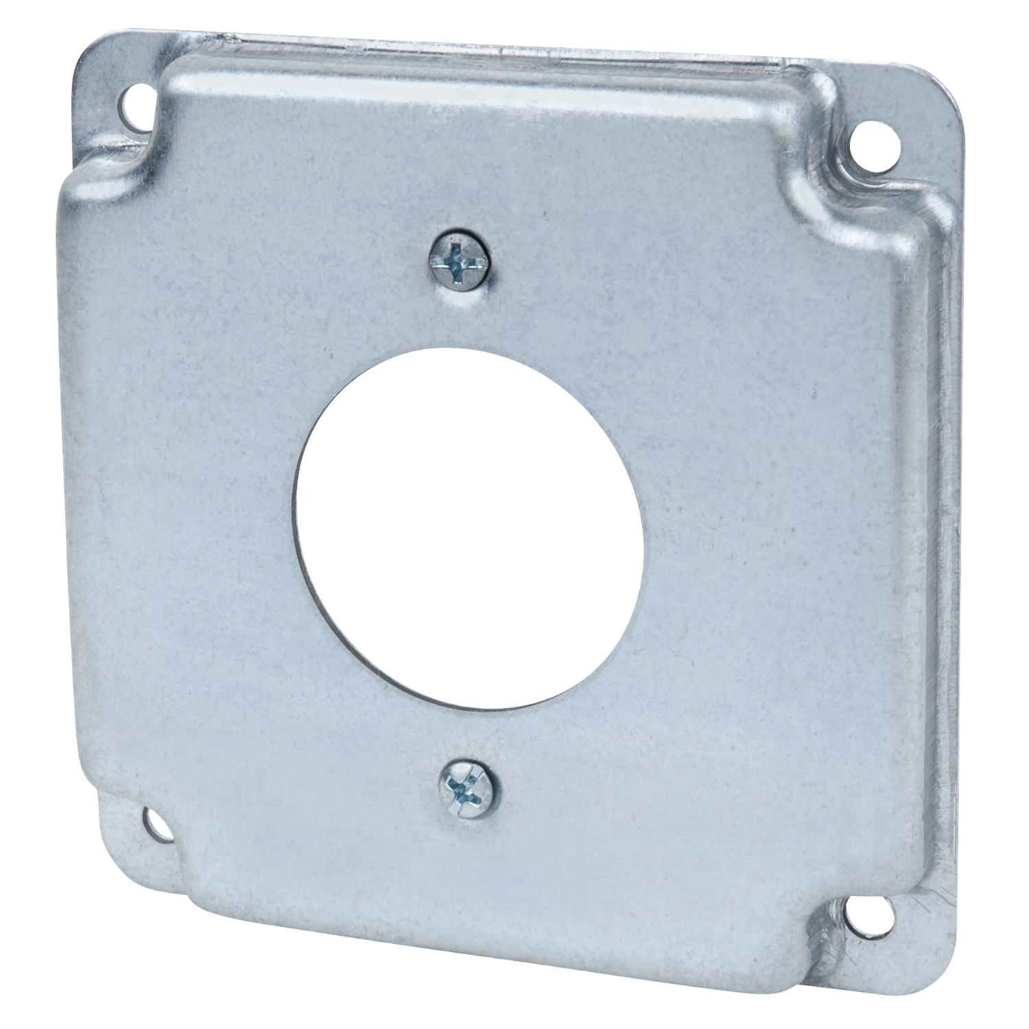 STEEL-CITY RS4 STEEL COVER USE 4-WIRE TWIST-LOCK SINGLE RECEPTACLE