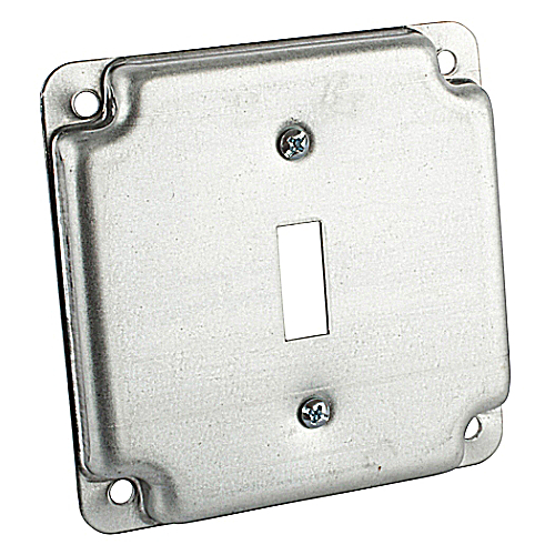 Steel City RS-9 4-inch Steel Square Box Cover