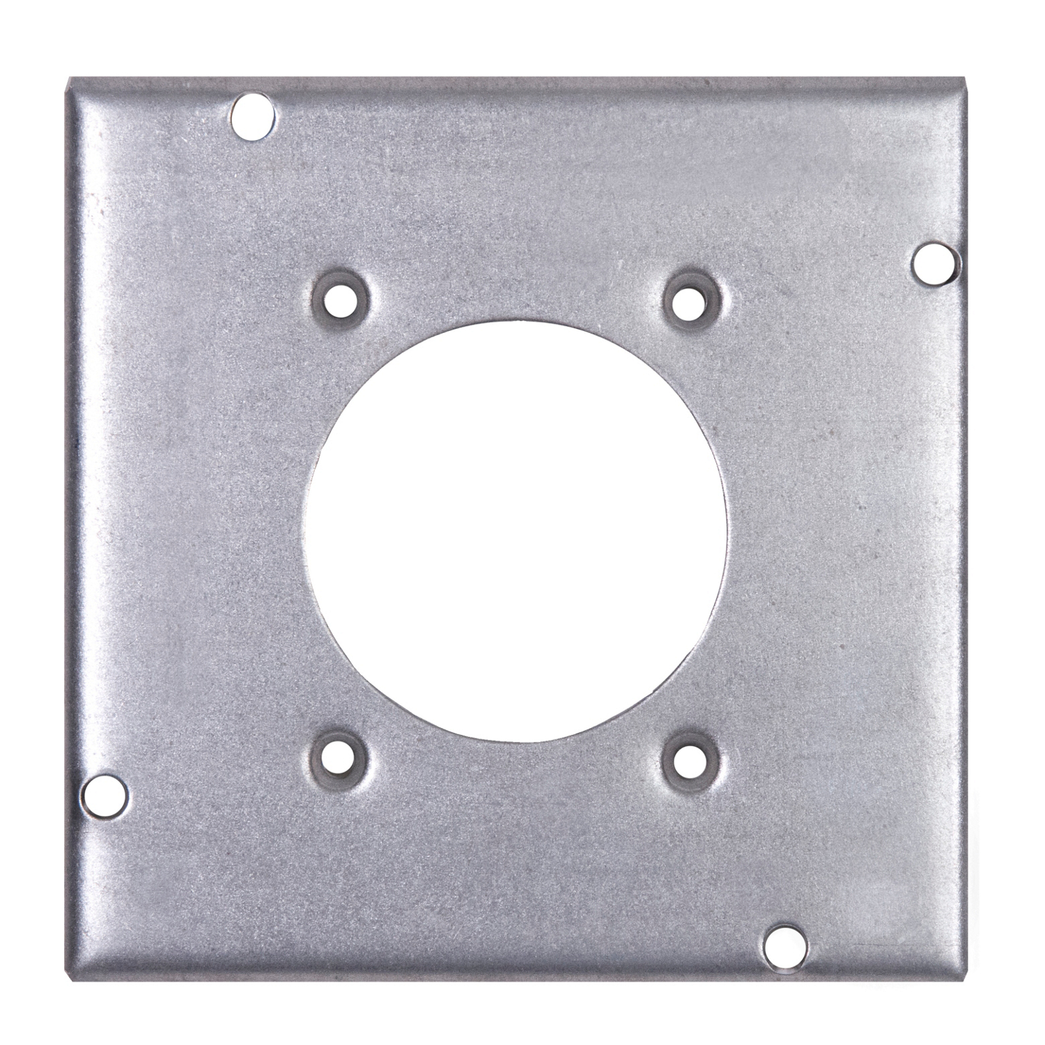 STEELCTY RSL-13 4-11/16-IN SQUARE SURFACE COVER, 2-5/32IN DIA