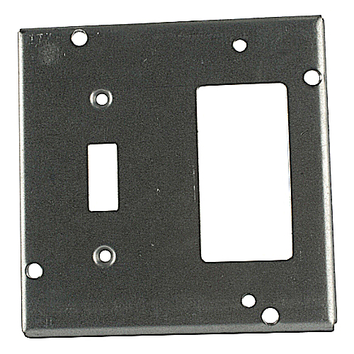 Steel City RSL-18 4-11/16 in. Square Box Surface Cover