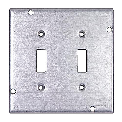 Steel City RSL-5 Steel City, 4 11/16 in. Pre-Galvanized Steel Square Box Cover