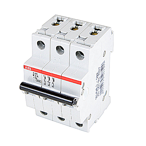 ABB S203-K3 MCB 3P K 3A 480Y/277 SU Miniature Circuit Breaker