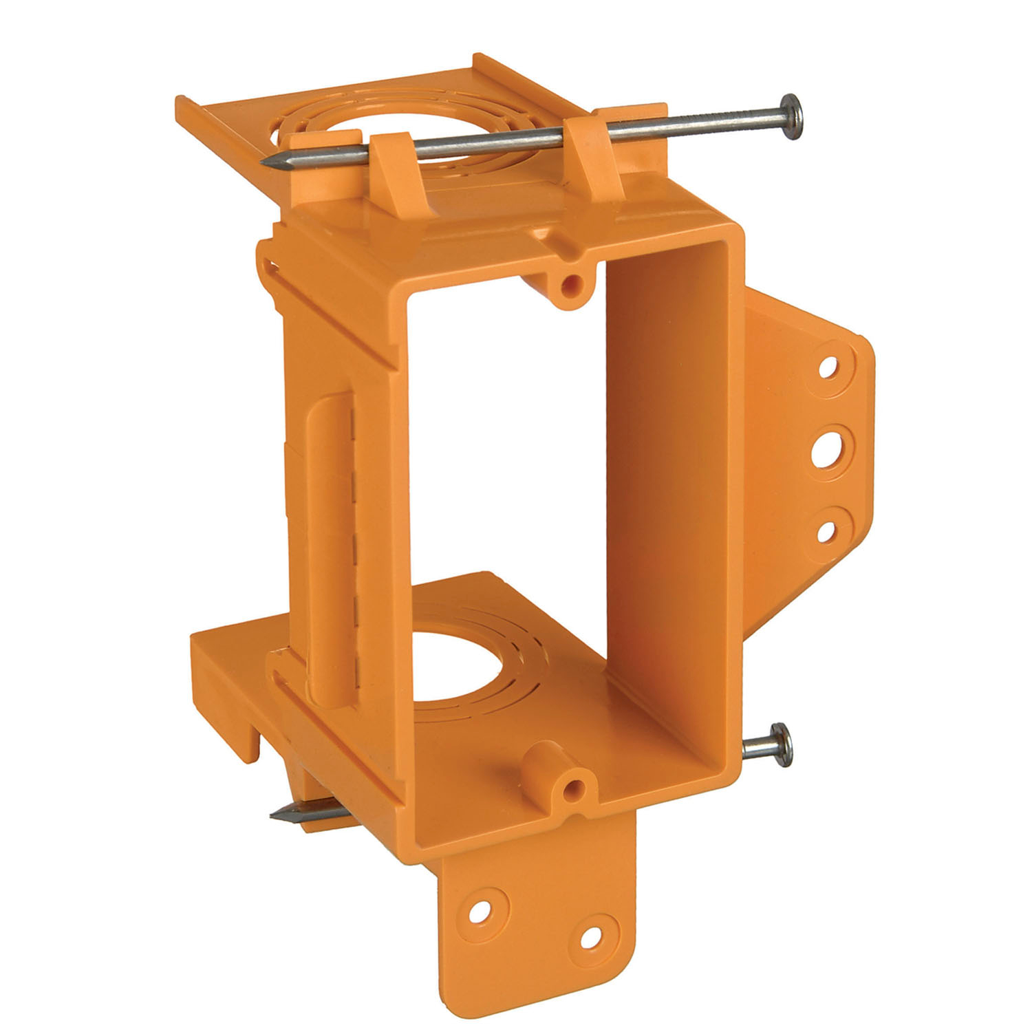 CAR SC100A 1G Low-Voltage Bracket, Resi-Rings, Orange, Non-Metallic cs=24