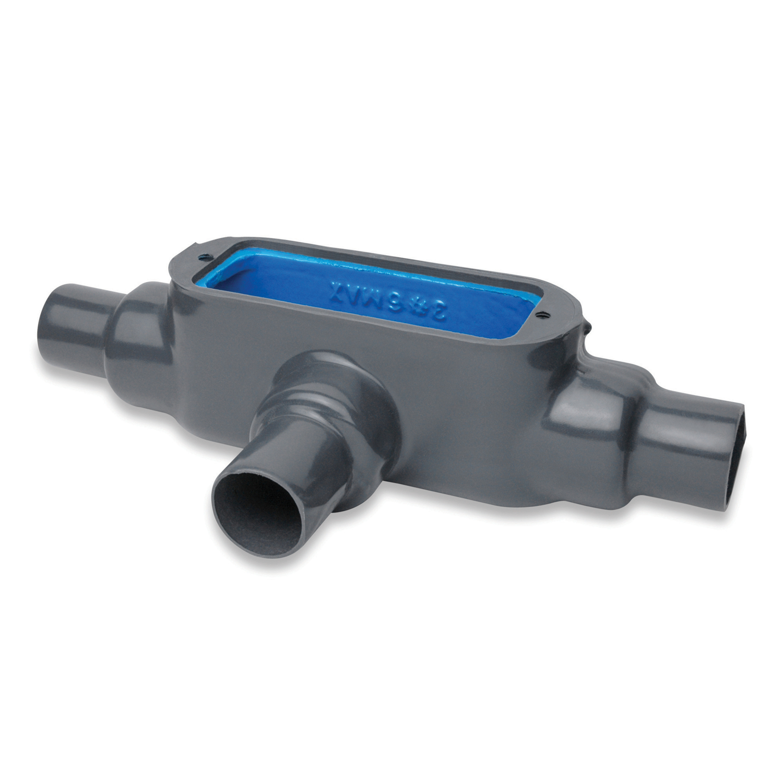 OCAL T28-4X-G 3/4 DARK GRAY PVC CTD UL4X FM8