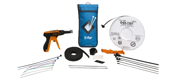 Ty-Rap Cable Ties, Tools and Accessories