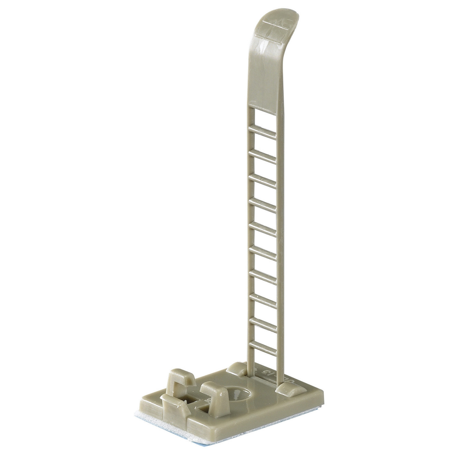 "Thomas & Betts ULNY-013-8-C Adjustable Ladder-Style Cable Clamp, Gray Nylon, 2.34"" Length"