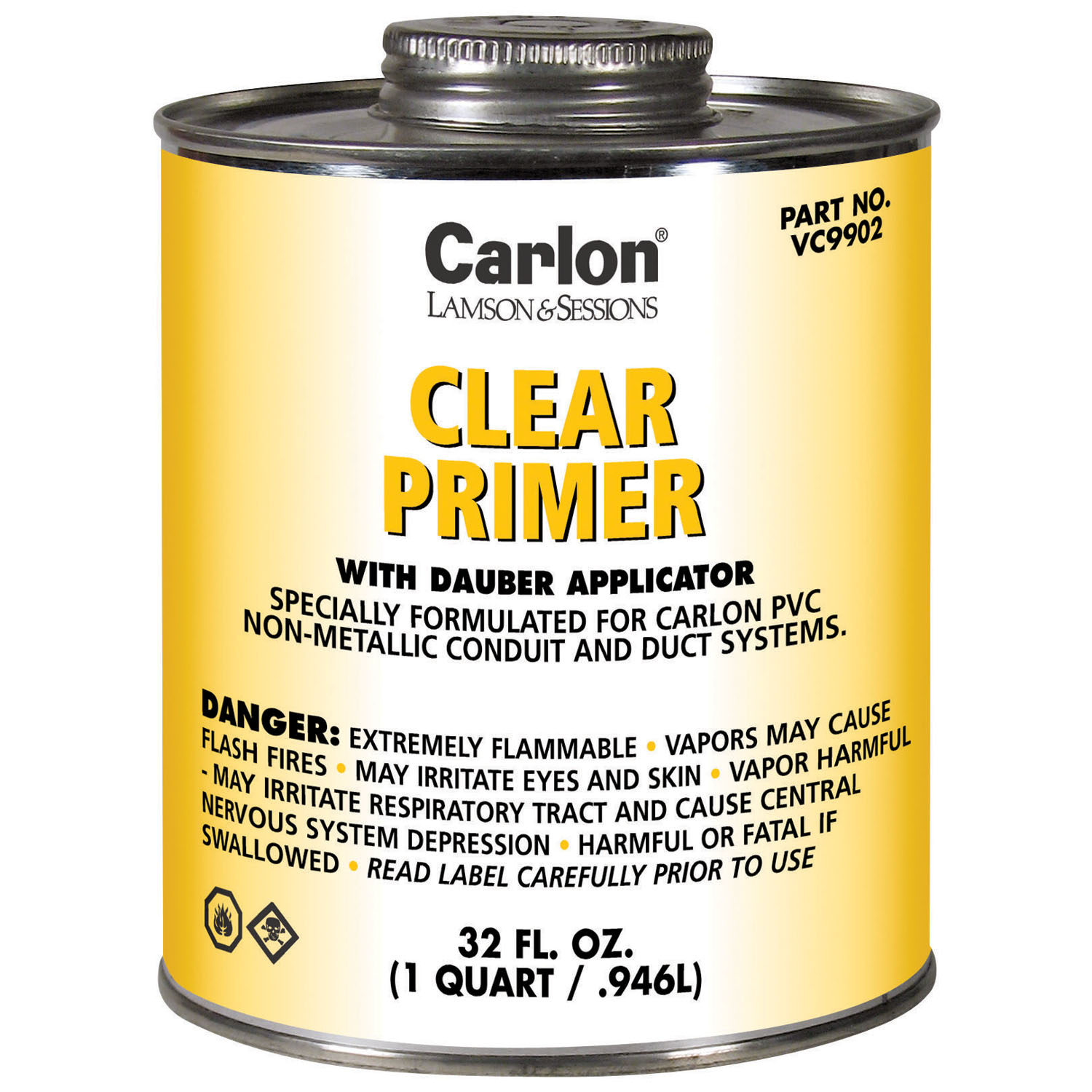 CAR VC9902 CLEAR PRIMER QUART CS=12