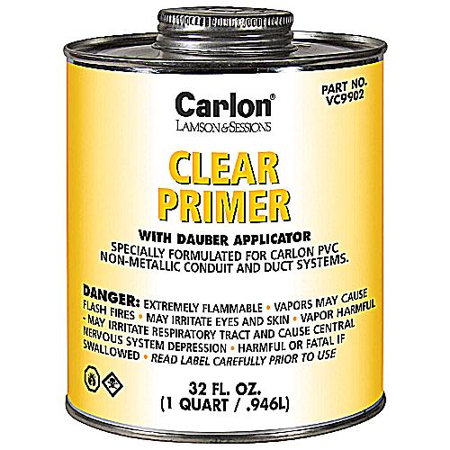 CARLON VC9902 CLEAR PRIMER QT