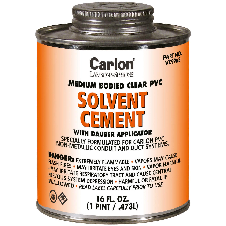 CARLON VC9964 STANDARD CLR CEMENT -1/2 PINT 31374
