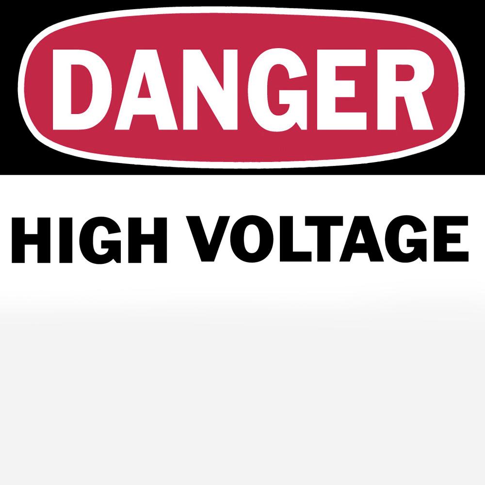 T&B WHF-0076 DANGER SIGN