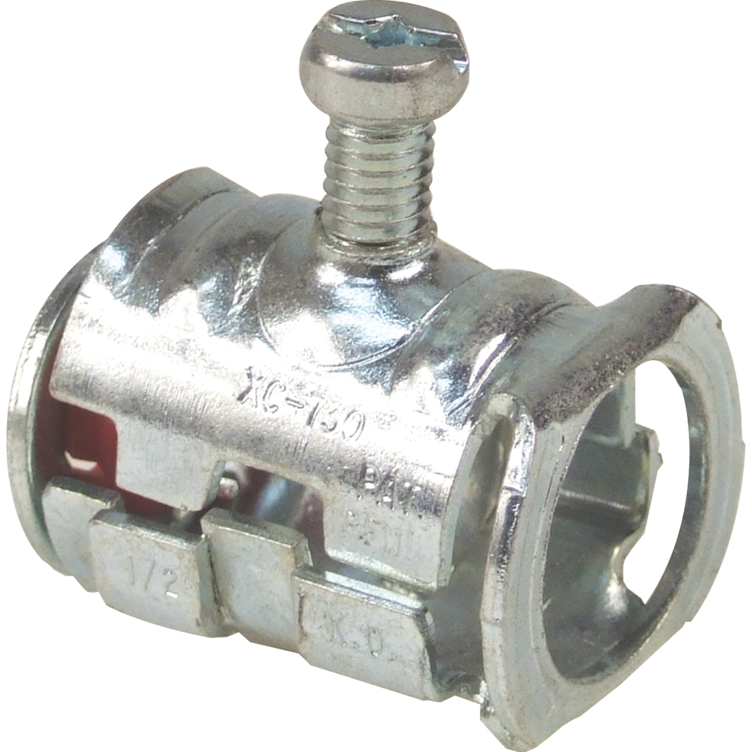 "STL-CTY XC731 CABLE LOK SET SCREWCONNECTOR WITH 1/2"" KNOCKOUT, INSUL"