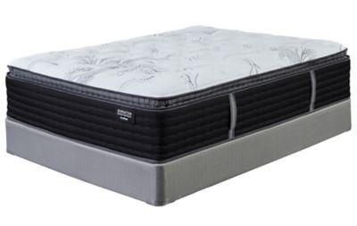 king sierra sleep by ashley manhattan design district plush pillow top mattress