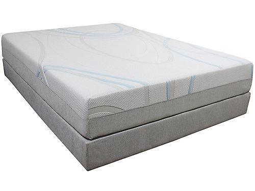 twin xl alpine ash 10 memory foam mattress. Black Bedroom Furniture Sets. Home Design Ideas